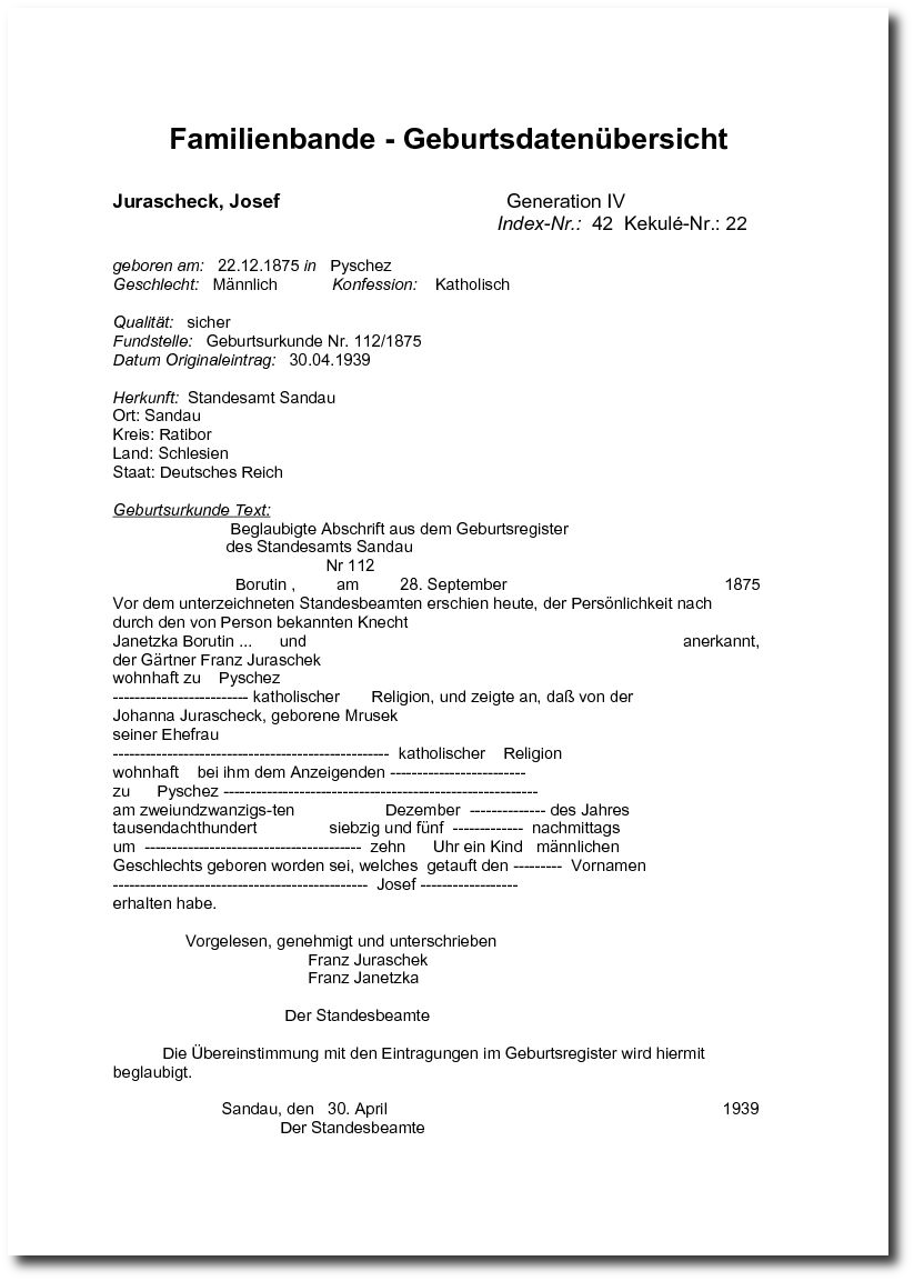 Schön Blank Geburtsurkunde Vorlage Galerie - Bilder für das ...